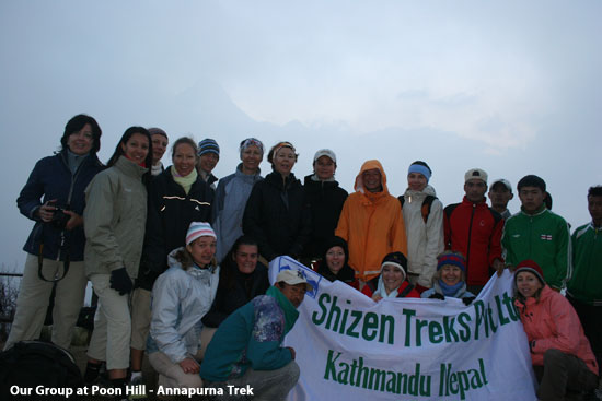 Our Group at Poon Hill